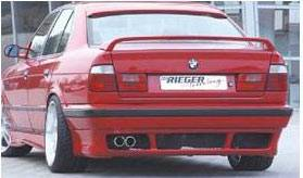 5 Series - Rear Bumper - Custom - BMW E34 Rieger Style Rear Apron
