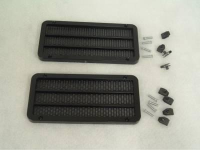 CPC - Ford Mustang CPC Door Speaker Grilles - AUD-066-002