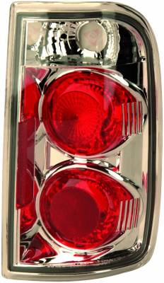Headlights & Tail Lights - Tail Lights - APC - GMC Jimmy APC Euro Taillights with Chrome Housing - 404115TLR