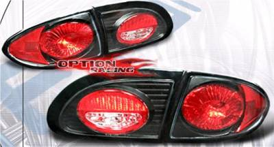 Headlights & Tail Lights - Tail Lights - APC - APC Black Taillights - 404116TLB
