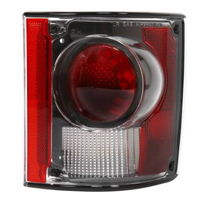 Headlights & Tail Lights - Tail Lights - APC - GMC CK Truck APC Euro Taillights with Black Housing - 404117TLB