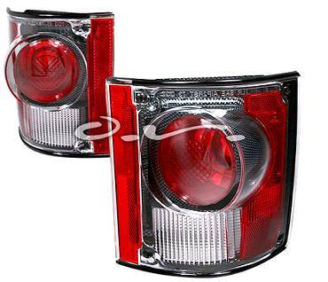 Headlights & Tail Lights - Tail Lights - APC - APC Clear Euro Taillights - 2PC - 404117TLR