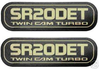 Accessories - Emblems - Custom - SR20DET Badge