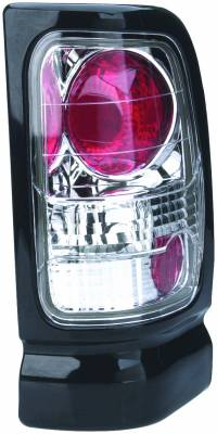 Headlights & Tail Lights - Tail Lights - APC - Dodge Ram APC Euro Taillights with Chrome Housing - 404120TLR