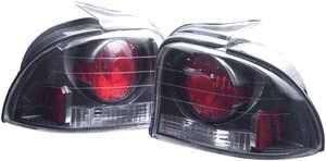 Headlights & Tail Lights - Tail Lights - APC - APC Euro Taillights with Carbon Fiber Housing - 2PC - 404121TLCF