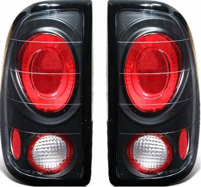 Headlights & Tail Lights - Tail Lights - APC - APC G1 Black Taillights - 404122TLB