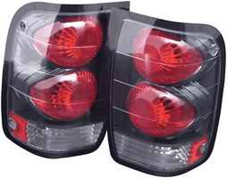Headlights & Tail Lights - Tail Lights - APC - APC Euro Taillights with Carbon Fiber Housing - 404131TLCF