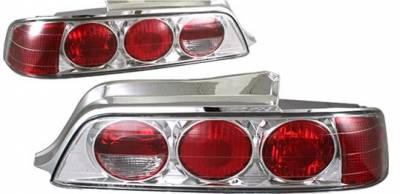 Headlights & Tail Lights - Tail Lights - APC - APC Chrome Taillights - 404147TLR
