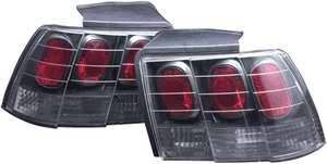 Headlights & Tail Lights - Tail Lights - APC - APC Euro Taillights with Carbon Fiber Housing - 404148TLCF