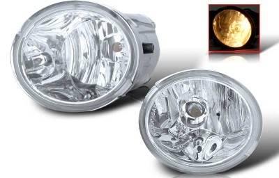 Headlights & Tail Lights - Fog Lights - WinJet - Toyota Tundra WinJet OEM Fog Light - Clear - WJ30-0076-09