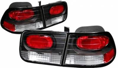 Headlights & Tail Lights - Tail Lights - APC - APC Black Taillights - 404152TLB