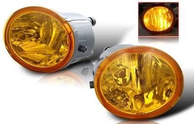 Headlights & Tail Lights - Fog Lights - WinJet - Toyota Tundra WinJet OEM Fog Light - Yellow - WJ30-0076-12