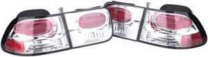 Headlights & Tail Lights - Tail Lights - APC - APC Euro Taillights with Red Reflector - 4PC - 404152TLR