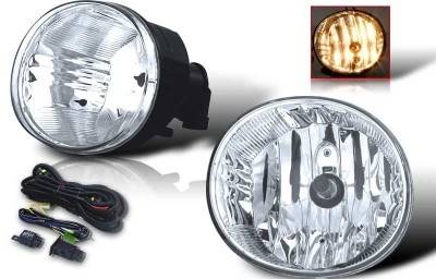 Headlights & Tail Lights - Fog Lights - WinJet - Toyota Rav 4 WinJet OEM Fog Light - Clear - Wiring Kit Included - WJ30-0077-09