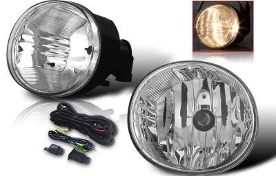 Headlights & Tail Lights - Fog Lights - WinJet - Toyota Rav 4 WinJet OEM Fog Light - Smoke - Wiring Kit Included - WJ30-0077-11