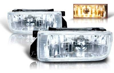 Headlights & Tail Lights - Fog Lights - WinJet - BMW 3 Series WinJet OEM Fog Light - Clear - WJ30-0079-09