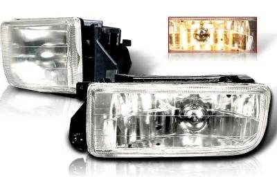 Headlights & Tail Lights - Fog Lights - WinJet - BMW 3 Series WinJet OEM Fog Light - Smoke - WJ30-0079-11