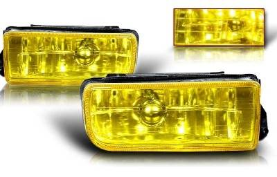 Headlights & Tail Lights - Fog Lights - WinJet - BMW 3 Series WinJet OEM Fog Light - Yellow - WJ30-0079-12