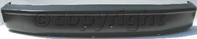 Factory Oem Auto Parts - Original OEM Bumpers - Custom - FRONT BUMPER BLACK