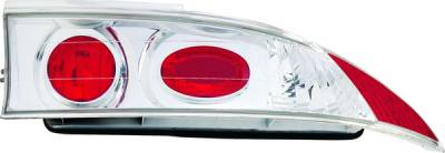 Headlights & Tail Lights - Tail Lights - APC - Mitsubishi Eclipse APC Euro Taillights with Chrome Housing - 404166TLR