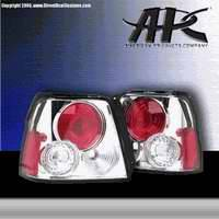 Headlights & Tail Lights - Tail Lights - APC - APC Euro Chrome Taillights - 404168TLR