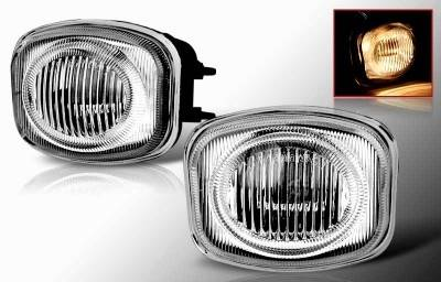 Headlights & Tail Lights - Fog Lights - WinJet - Mitsubishi Eclipse WinJet OEM Fog Light - Smoke - WJ30-0080-11