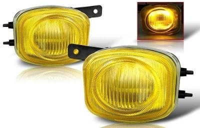 Headlights & Tail Lights - Fog Lights - WinJet - Mitsubishi Eclipse WinJet OEM Fog Light - Yellow - WJ30-0080-12