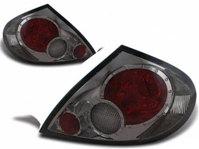Headlights & Tail Lights - Tail Lights - APC - APC G1 Taillights with Smoke Housing - 404177TLS