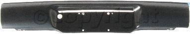 Factory OEM Auto Parts - Original OEM Bumpers - Custom - REAR BUMPER BLACK