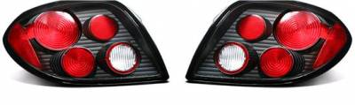 Headlights & Tail Lights - Tail Lights - APC - APC Black Taillights - 404192TLB