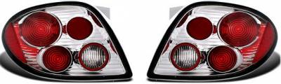 Headlights & Tail Lights - Tail Lights - APC - APC Chrome Taillights - 404192TLR