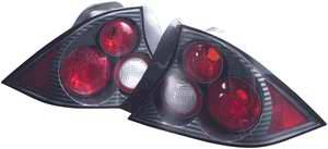 Headlights & Tail Lights - Tail Lights - APC - APC Euro Taillights with Carbon Fiber Housing - 404194TLCF