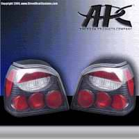 Headlights & Tail Lights - Tail Lights - APC - APC Euro Taillights with Carbon Fiber Housing - 404196TLCF