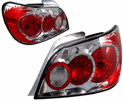 Headlights & Tail Lights - Tail Lights - APC - APC Chrome Taillights - 404201TLR