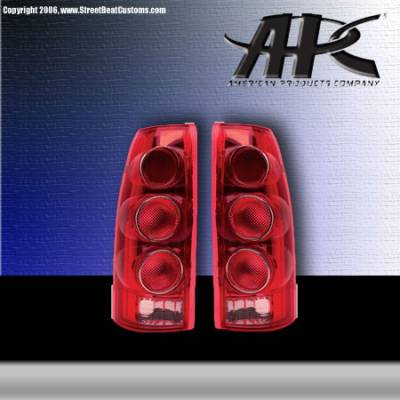 Headlights & Tail Lights - Tail Lights - APC - APC Next Generation Clear Euro Taillights - 404510TLRR