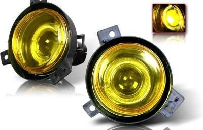 Headlights & Tail Lights - Fog Lights - WinJet - Ford Ranger WinJet Halo Projector Fog Light - Yellow - WJ30-0087-12