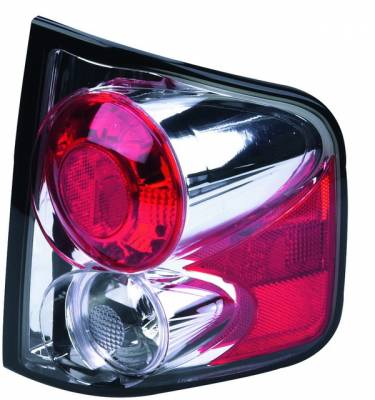 Headlights & Tail Lights - Tail Lights - APC - GMC S15 APC Euro Taillights with Chrome Housing - Next Generation - 404512TLR