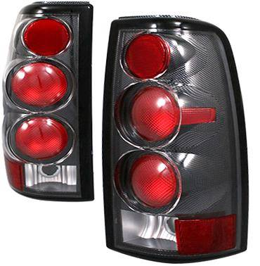 Headlights & Tail Lights - Tail Lights - APC - APC Euro Taillights with Carbon Fiber Housing - Gen 2 Style - 404518TLCF