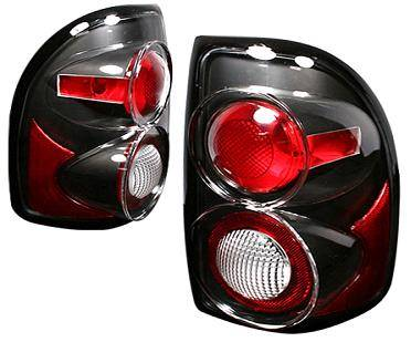 Headlights & Tail Lights - Tail Lights - APC - APC G2 Black Taillights - 404522TLB