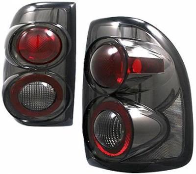 Headlights & Tail Lights - Tail Lights - APC - APC G2 Taillights with Smoke Housing - 404522TLS