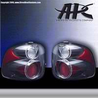 Headlights & Tail Lights - Tail Lights - APC - APC Euro Taillights with Carbon Fiber Housing - 404526TLCF