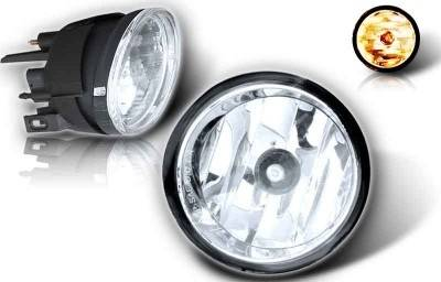 Headlights & Tail Lights - Fog Lights - WinJet - Nissan Titan WinJet OEM Fog Light - Clear - WJ30-0091-09