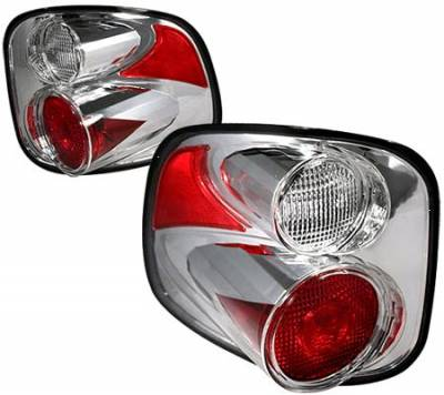 Headlights & Tail Lights - Tail Lights - APC - APC Chrome Taillights - 404526TLR