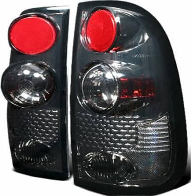 Headlights & Tail Lights - Tail Lights - APC - APC G2 Taillights with Smoke Housing - 404530TLS