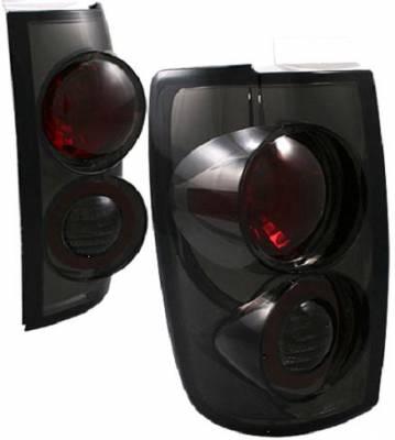 Headlights & Tail Lights - Tail Lights - APC - APC Taillights with Smoke Housing - 404534TLS