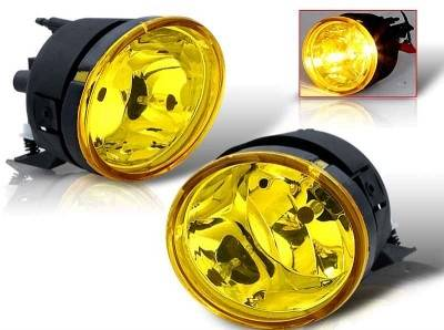 Headlights & Tail Lights - Fog Lights - WinJet - Nissan Titan WinJet OEM Fog Light - Yellow - WJ30-0091-12