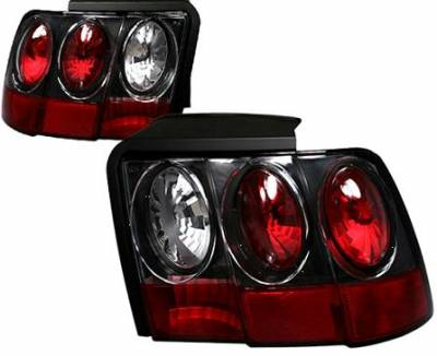 Headlights & Tail Lights - Tail Lights - APC - APC G2 Black Taillights - 404548TLB