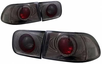 Headlights & Tail Lights - Tail Lights - APC - APC G2 Taillights with Smoke Housing - 404550TLS