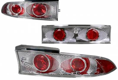 Headlights & Tail Lights - Tail Lights - APC - APC Chrome Taillights - 404566TLR