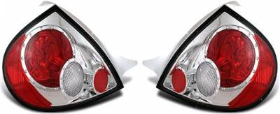 Headlights & Tail Lights - Tail Lights - APC - APC Chrome Taillights - Gen 2 Style - 404577TLR